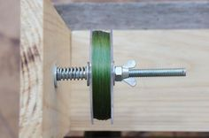 DIY Line Spooler | Fishing line spooler, Fishing tips, Fishing line