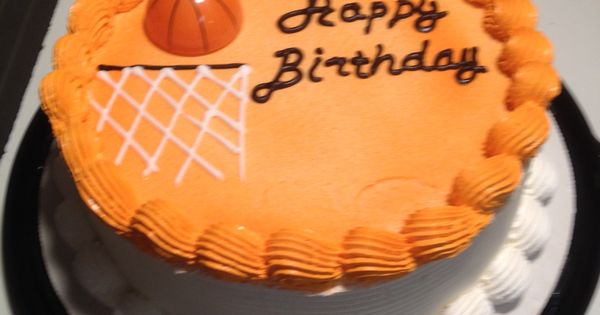 Dq Cakes Dairy Queen Basketball Dq Cakes Dairy Queen