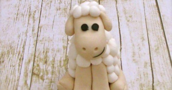 Think, Shawn the Lamb in W movie >> Fondant Lamb