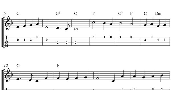 "✓""O Come, All Ye Faithful"" (""Adeste Fideles"") Ukulele Sheet Music ..."