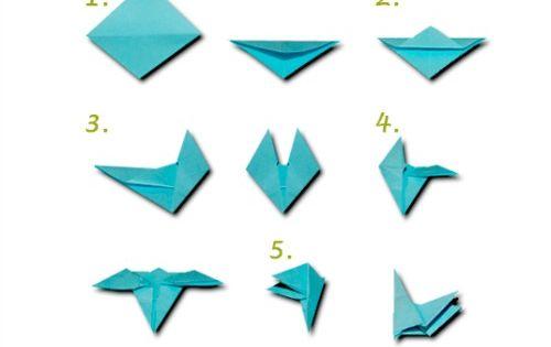 Origami Hummingbird Necklace | Craft Ideas | Pinterest ... - photo#6