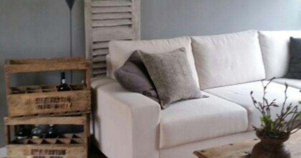 Mooi grijze kleur painting the past kleur loft sober en stoer blogs pinterest lofts - Grijze kleur donkerder ...