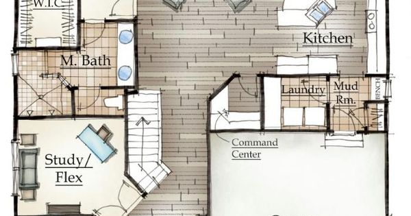 Mayberry Homes Floor Plans: Mayberry's Norway Floor Plan.