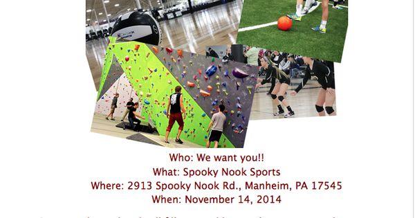 November Field Trip Information Spooky Nook Sports Spooky Nook Field Trip