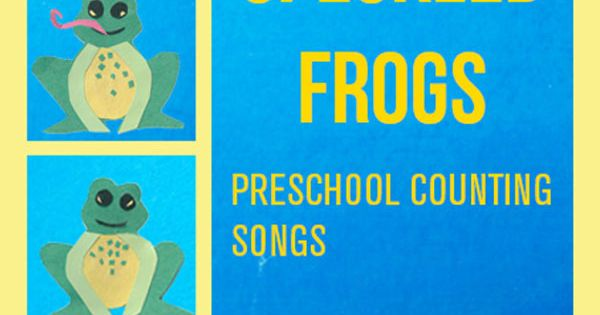 counting songs for preschool let s play five speckled frogs preschool 415