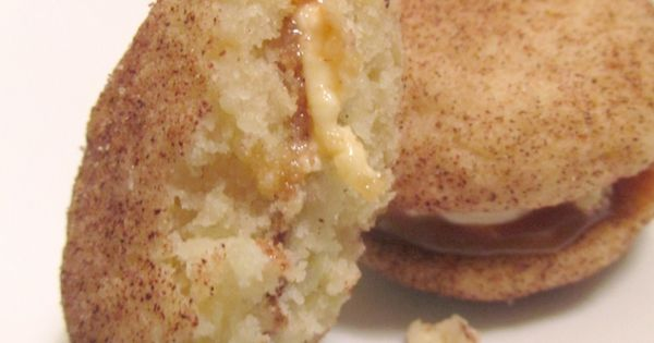 ... Cookie Sandwiches | Caramel Cheesecake, Snicker Doodles and Cheesecake