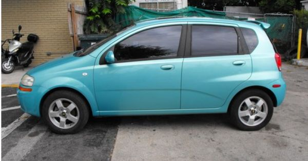 I Ve Always Wanted This Chevy Aveo In Seafoam Green Dream