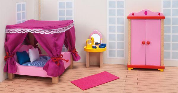 Met deze 13 delige poppenhuis meubeltjes slaapkamer set heb je gelijk een volledig gemeubileerde - Gemeubileerde woonkamer ...