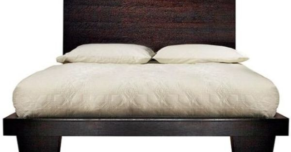 Zen Bed, EASTERN KING, ESPRESSO Home Decorators Collection