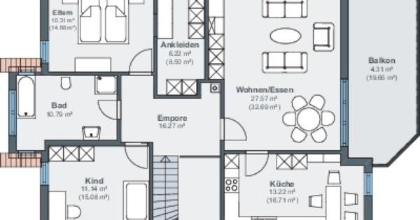 bauen am hang dachgeschoss grundrisse pinterest. Black Bedroom Furniture Sets. Home Design Ideas