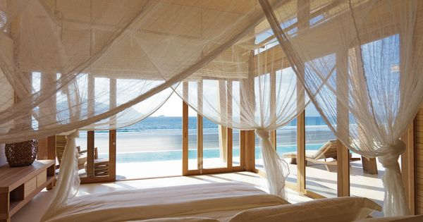 Romantic beach bedroom with breathtaking ocean views!