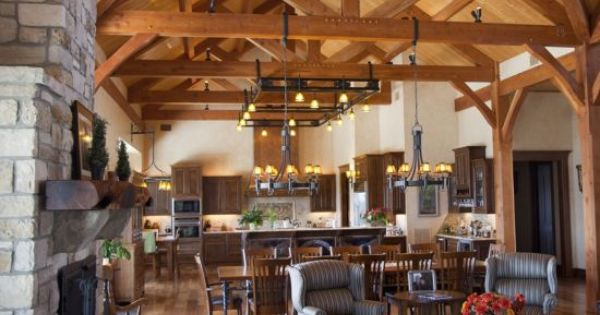 Open Kitchens Timber Frames And Kitchen Dining On Pinterest