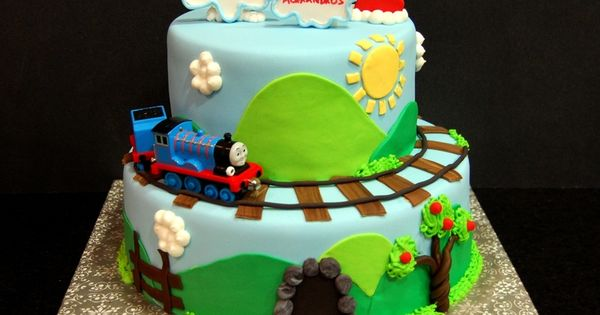 Train Cake Decorating Ideas | Thomas Cake - Maria's Dream Cakes