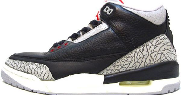Jordan 3 1994 Retro Black Cement Grey With Images Air Jordans
