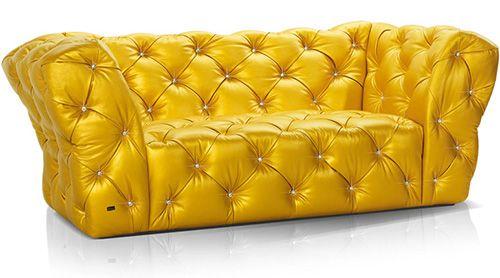 The Flamboyant Swarovski Furniture From Bretz Modernes Mobeldesign Bunte Mobel Bretz Sofa