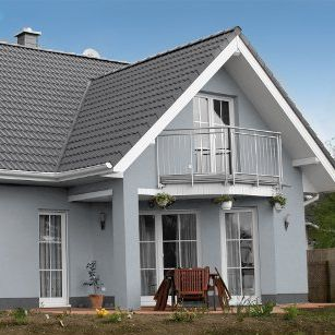 20++ Haus graue fassade weisse fenster 2021 ideen
