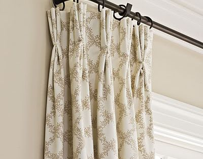 Wrap Around Curtain Rod Curtains French Doors Pinterest Curtain Rods Curtains And Irons