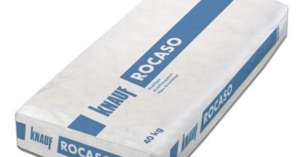 Knauf Gips Modellgips Rocaso 40 Kg Sack Ean 4003982074997 Han 00005347 Cement Design Packaging