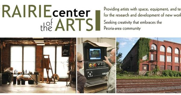 Il Prairie Center For The Arts In Peoria Illinois My Bfa Exhibition Is Here Random