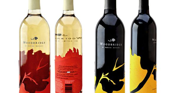 Woodbridge Wine Label Design - Lacey Design. #Wine #label love PD Enlarge this so you ...
