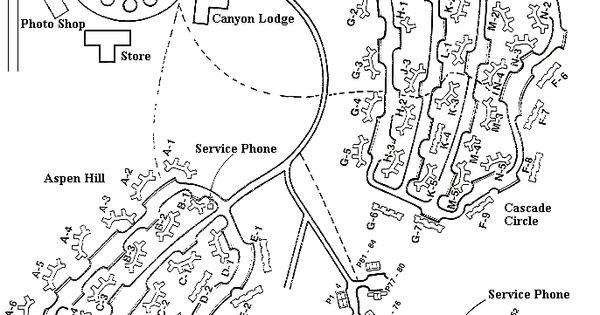 Yellowstone National Park Lodging Map – PhoneNinja on