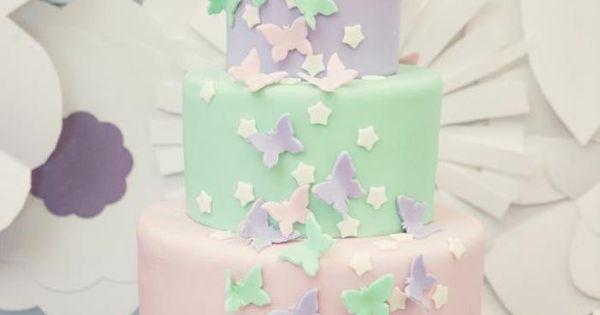 Una preciosa tarta para una fiesta primer cumple! / A lovely cake