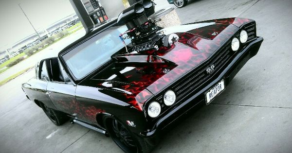 Chevy Reaper For Sale >> MY 1967 CHEVY CHEVELLE SS FOR SALE. Chevelle SS supercharged blown flames | My life | Pinterest ...