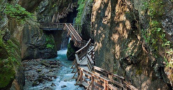 bridge: Canyon Path, Fieberbrunn, Tyrol, Austria