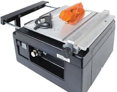 Microlux Mini Tilt Arbor Table Saw For Benchtop Hobby Use Table