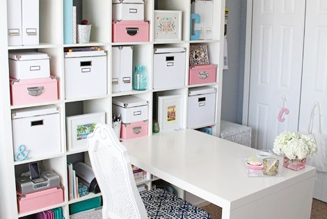 Gorgeous home office space. Perfect in spare bedrooms or in a corner