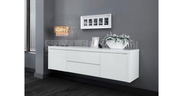 Zwevend tv meubel shine sfeer tv meubel pinterest tv tv meubels en werkkamer - Moderne entree meubels ...