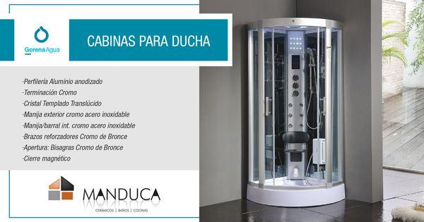 Gorena agua mamparas y cabinas de ducha sistemas de for Cabinas de ducha economicas