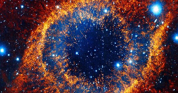 This object, called the Helix nebula, lies 650 light-years ...