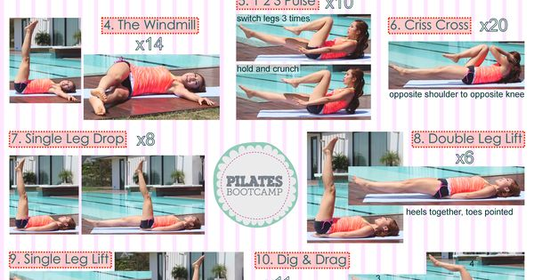 Pilates ab work out!