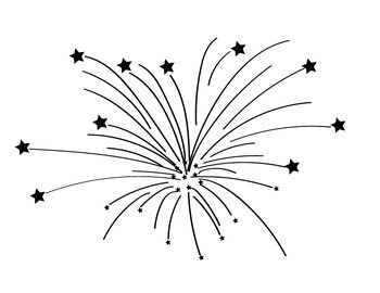 25+ Free Black And White 4th Of July Clipart