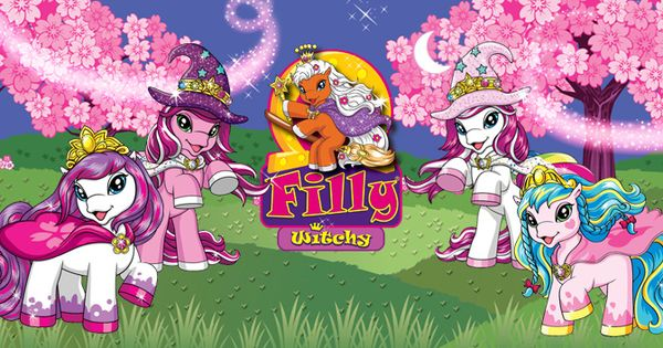 Filly Witchy Friends Lilokids Filly Witchy Pinterest