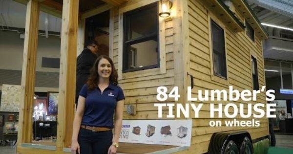 84 Lumber 39 S New Tiny House On Wheels Http