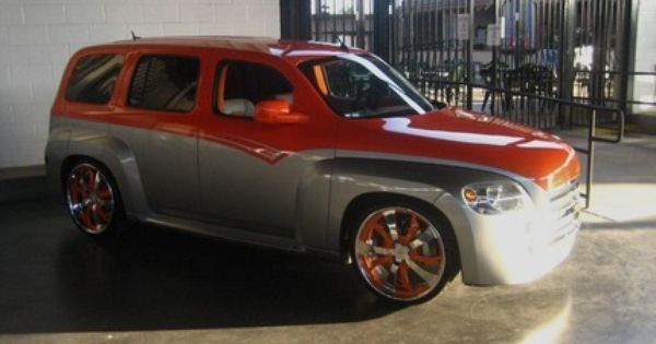 Chevrolet Hhr Painted By Star Side Design For Sema Chevy Hhr Hhr Car Truck Paint