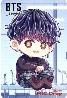 Bts Mic Drop Chibi Jungkook Bts Chibi Chibi Bts Wallpaper