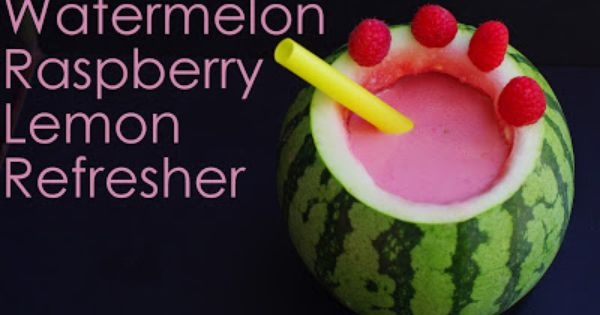 Watermelon-Cucumber Refresher Recipe — Dishmaps