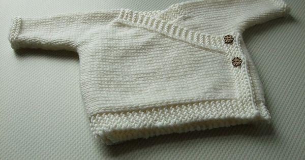 Baby Kimono pattern by Katherine Teixeira | Baby og Strik
