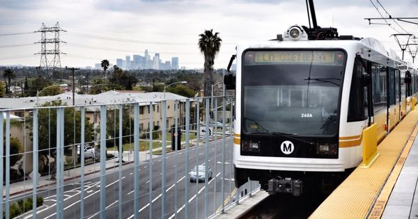 Alstom To Modernise Los Angeles Metro Light Rail Fleet Light Rail Light Rail Vehicle La Metro