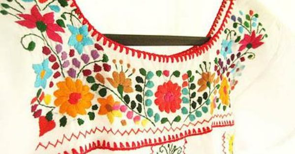 Mexican embroidery class tutorials of the crafty kind