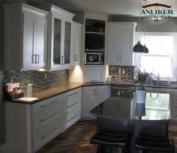 Pin By Jaime Morrow On House Ideas Kitchen Design New Kitchen Cabinets Kitchen Corner
