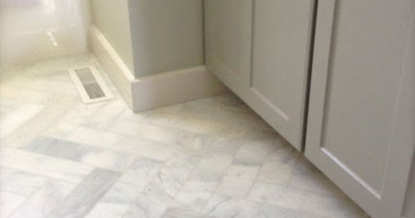 Marble 3x12 Herringbone Floors Idea For Shower Walls
