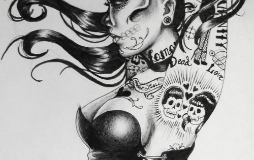 Pin Up Girl Tattoo Ideas