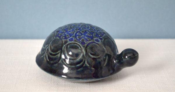 Vintage gustavsberg lisa larson turtle figurine by for Scandinavian housewares