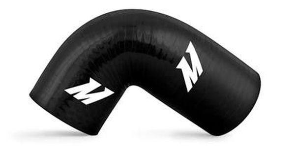 Mishimoto MMHOSE-SUB-INT4BK Black Silicone Intercooler Hose for Subaru WRX//WRX STI USDM