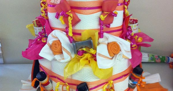 Wedding Shower gift- Paper Towel 'Cake'