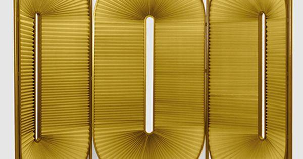 raumteiler aus plissee stoff designed by christophe de la. Black Bedroom Furniture Sets. Home Design Ideas